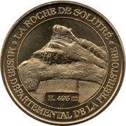 Médaille - La Roche de Solutré – obverse