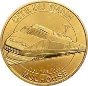Jeton touristique - Monnaie de Paris - Cité du train - Mulhouse – obverse