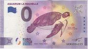 0 euro - La Rochelle Aquarium ; tortue – obverse