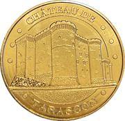 Jeton touristique - Monnaie de Paris - Château de Tarascon – obverse