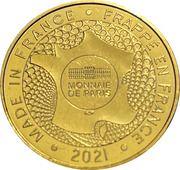 Jeton touristique - Monnaie de Paris - Château de Tarascon – reverse
