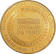 Jeton touristique - Monnaie de Paris - Notre-dame-du-port (Clermont-ferrand) – reverse