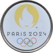 Jeton Touristique - Monnaie de Paris - Jeux olympiques Paris 2024 – obverse