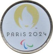 Jeton Touristique - Monnaie de Paris - Jeux paralympiques Paris 2024 – obverse