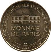Jeton Touristique - Monnaie de Paris - Bicentenaire 1821-2021 - Pour le meilleur et pour l'empire – reverse