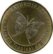 Jeton Touristique - Monnaie de Paris - NATUROSPACE -Le paradis tropical de Honfleur – obverse