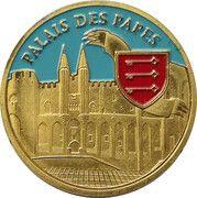 Jeton touristique - Souvenirs et patrimoine - Avignon - Palais des Papes – obverse