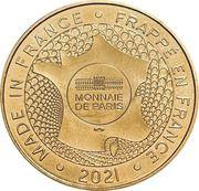 Jeton touristique - Monnaie de Paris - La maison des Orpellieres – reverse