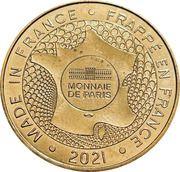 Jeton touristique - Monnaie de Paris - Centenaire Brassens – reverse