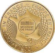 Jeton touristique - Monnaie de Paris - Musée de l'armée - Napoléon Bonaparte – reverse