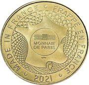 Jeton touristique - Monnaie de Paris - La Roque-Gagéac - Périgord noir – reverse