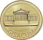 Jeton touristique - Monnaie de Paris - Gisacum – obverse