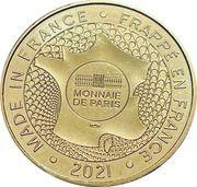 Jeton touristique - Monnaie de Paris - Eghiseim - Alsace – reverse