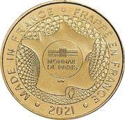 Jeton touristique - Monnaie de Paris - François 1er inaugure la tour de Navarre - Langres – reverse
