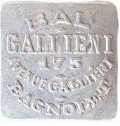 Bon pour une danse - Bal Gallieni - Bagnolet [93] – obverse