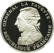100 Francs (La Fayette - Platinum issue) -  obverse