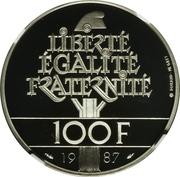100 Francs (La Fayette - Platinum issue) -  reverse