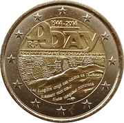 2 Euro (D-Day) -  obverse