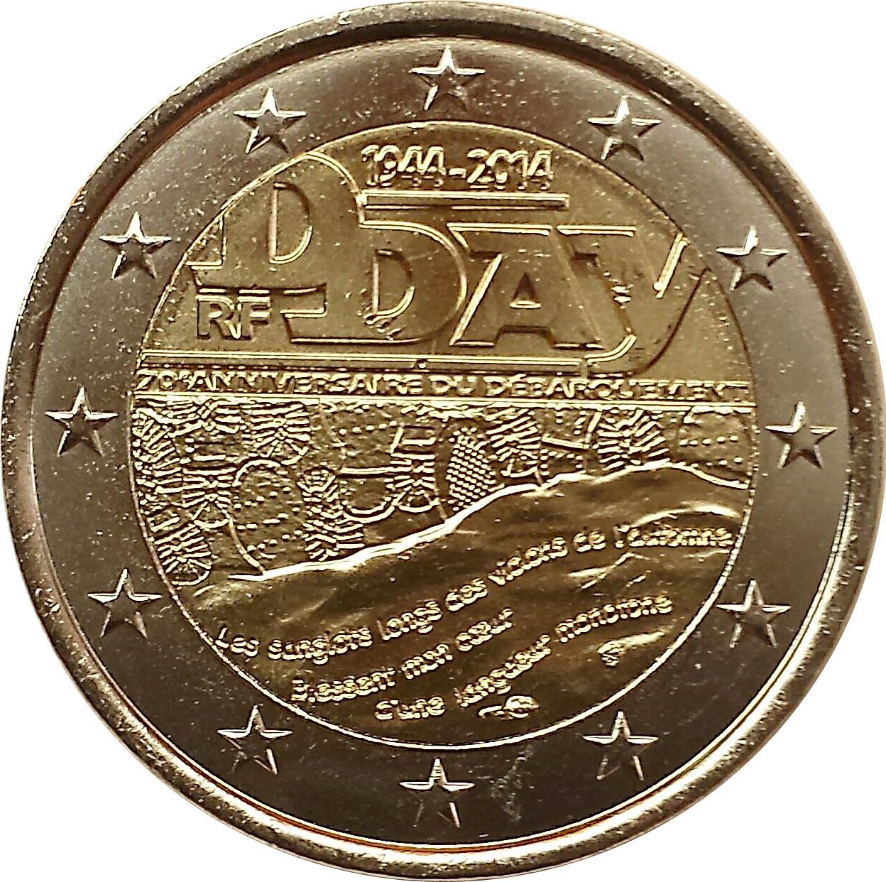 2 euro d day france numista