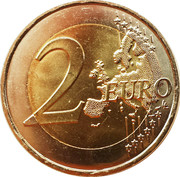 2 Euro (D-Day) -  reverse