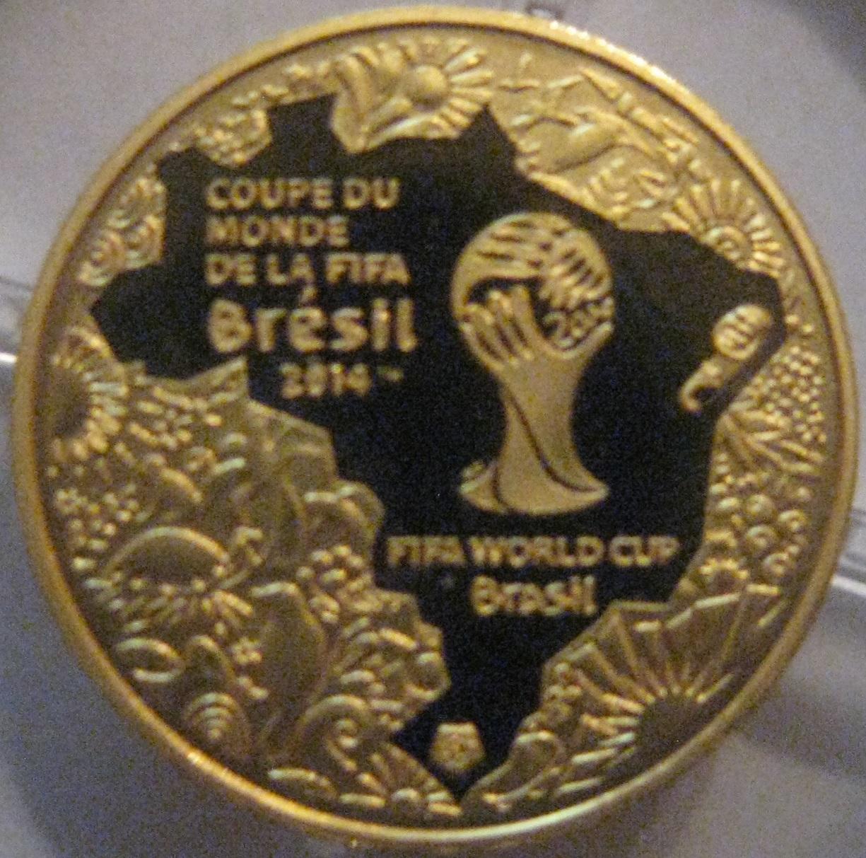 5 euro fifa coupe du monde au br sil 2014 france numista - Coupe du monde de la fifa bresil ps ...