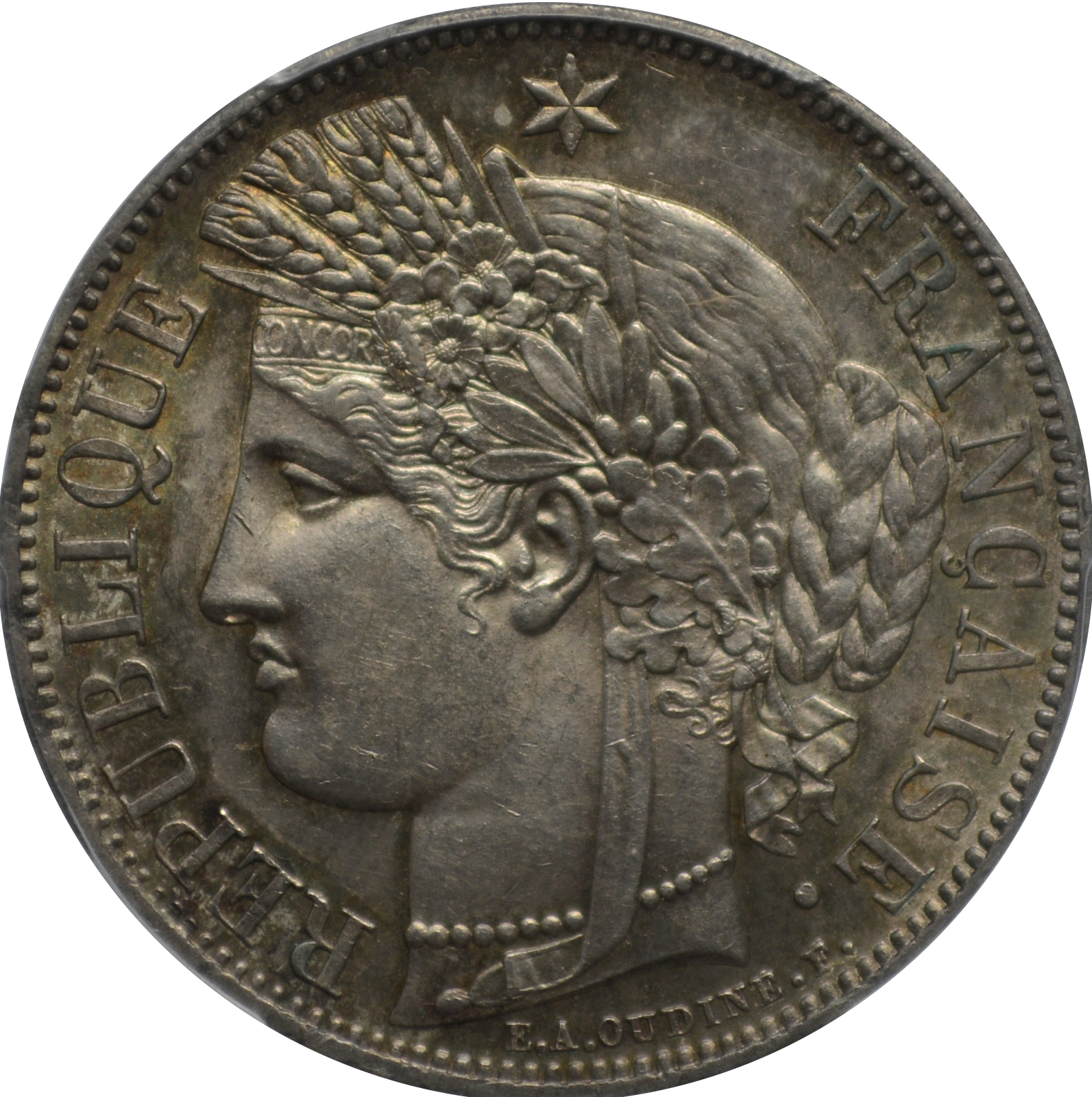 1849 5 francs coin value