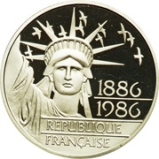 100 Francs (Statue of Liberty) -  obverse