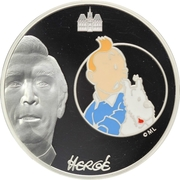 20 Euro (Tintin and Snowy) – obverse
