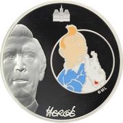 20 Euro (Tintin and Snowy) – obverse