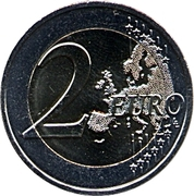 2 Euro (Peace) -  reverse