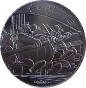 10 Euro – Astérix and Equality (Astérix aux Jeux Olympiques) -  reverse