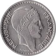 10 Francs (Small Head) -  obverse