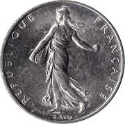 "1 Franc (Signature ""O. Roty"") -  obverse"