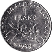 1 Franc (Signature