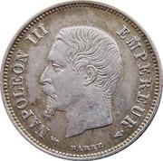 20 Centimes - Napoleon III -  obverse