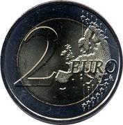 2 Euro (EURO 2016 Football Championship) -  reverse