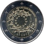 2 Euro (30 Years of EU Flag) -  obverse