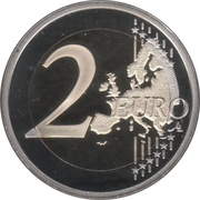 2 Euro (30 Years of EU Flag; Coloured) -  reverse