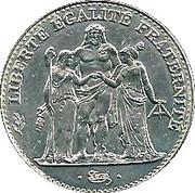 5 Francs (Hercule de Dupré) -  obverse