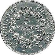 5 Francs (Hercule de Dupré) -  reverse