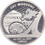 6,55957 Francs - Art Moderne -  reverse