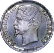 2 Francs - Napoleon III (pattern of  Bouvet) – obverse
