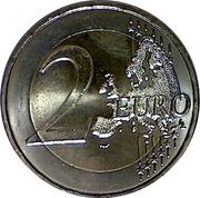 2 Euro (François Mitterrand) -  reverse