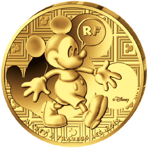 50 Euro Mickey Mouse Through The Ages France Numista