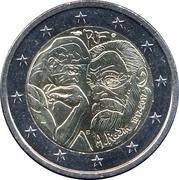 2 Euro (Auguste Rodin) -  obverse