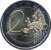 2 Euro (Auguste Rodin) -  reverse
