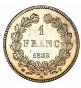 1 Franc - Louis-Philippe -  reverse