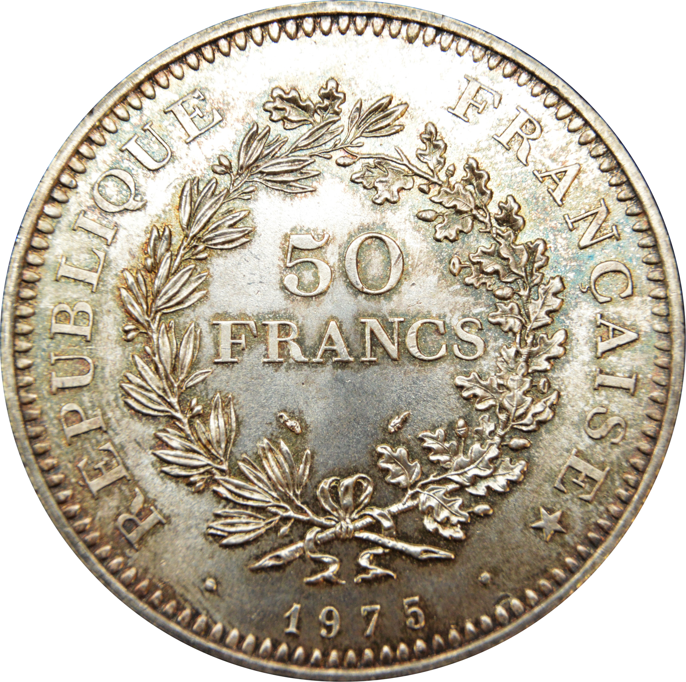 50 francs france numista for France francs