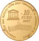 10 Euro (Great Wall of China) – reverse