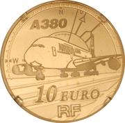 10 Euro (Airbus A380) -  obverse